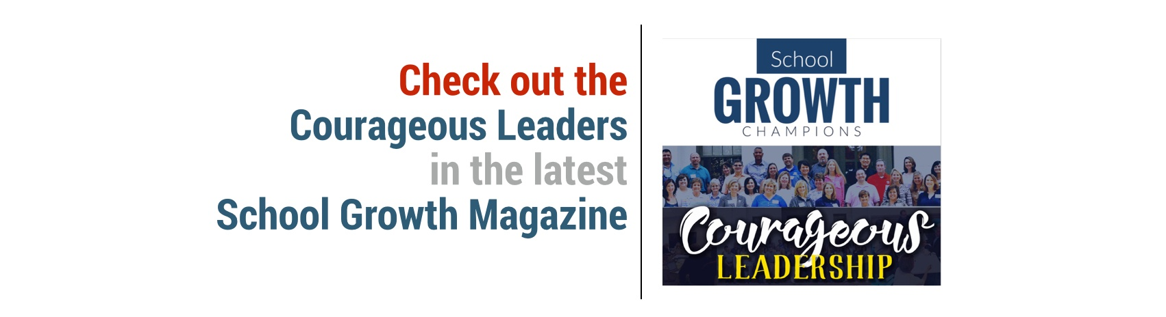 Check Out the School Growth Magazine